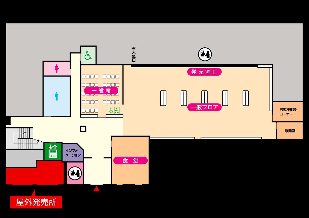 屋外発売所マップ