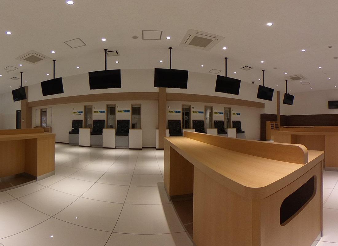 1階 エントランス・一般席・一般フロアの360度画像