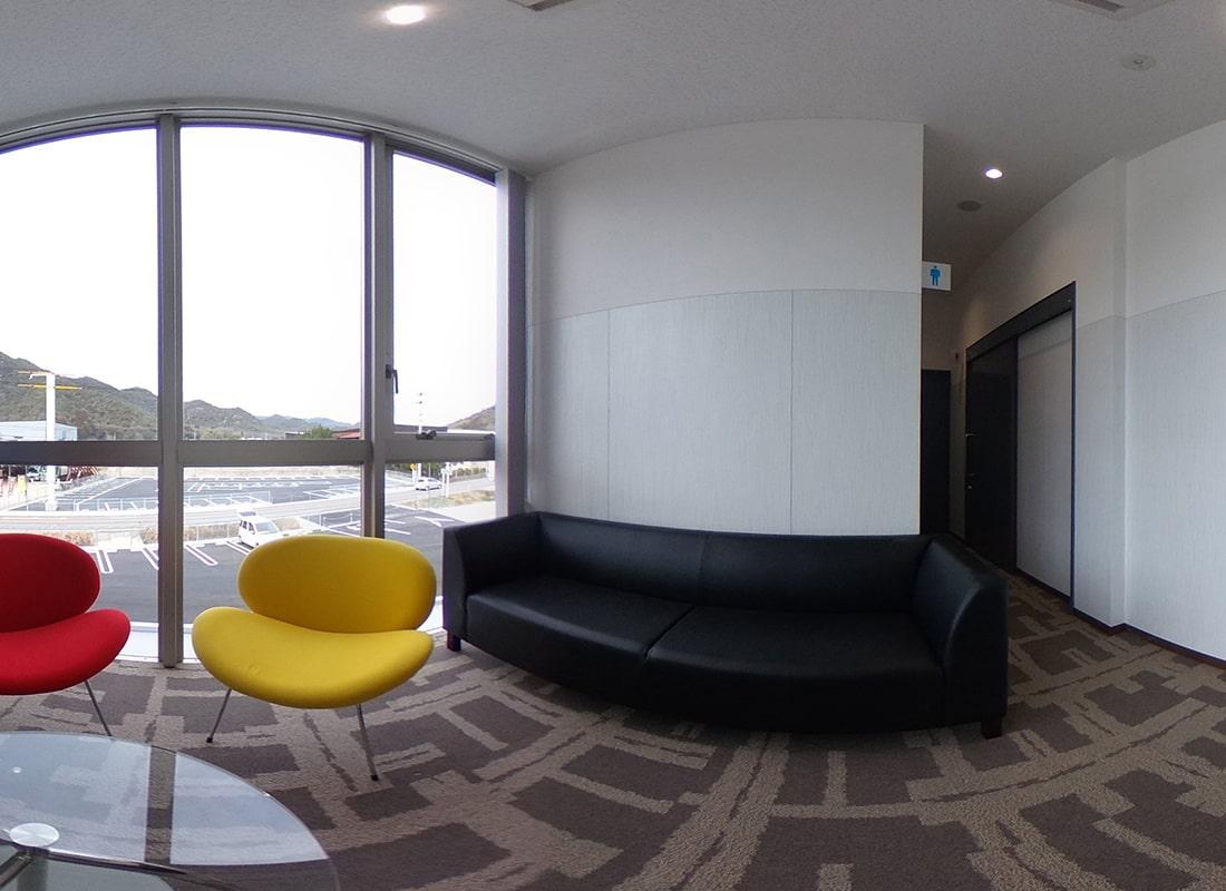 2階 ロビーの360度画像