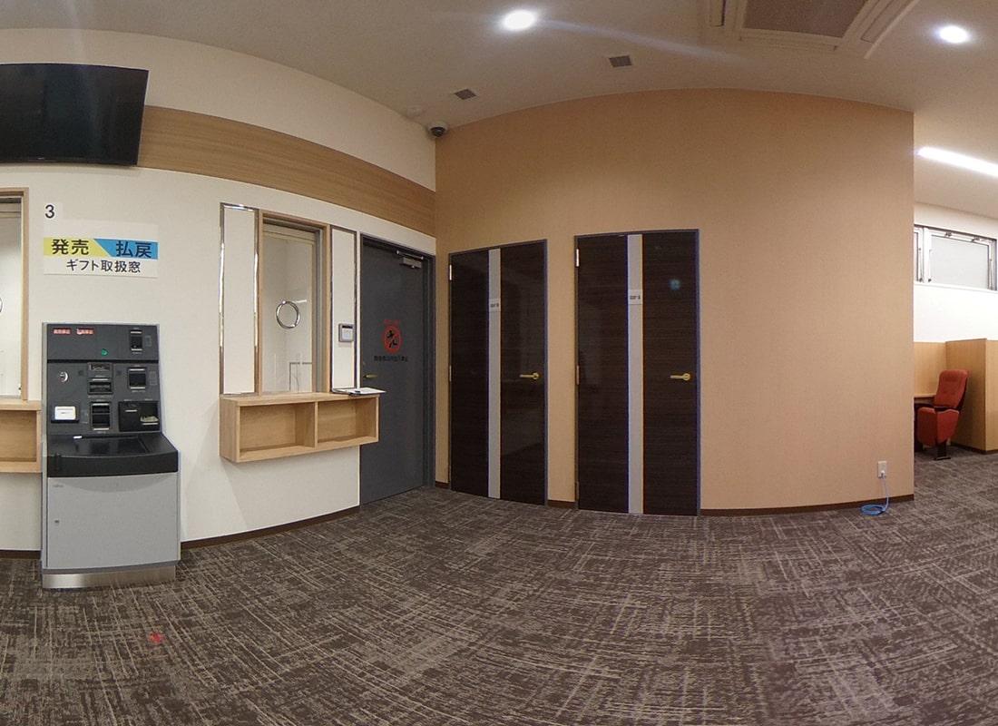 2階 有料席・有料個の360度画像